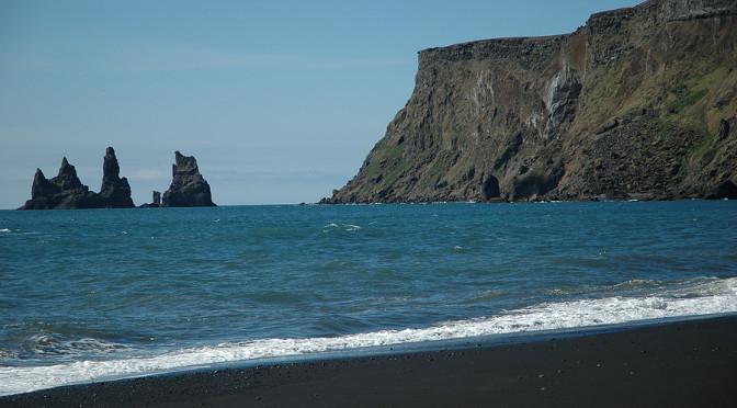 Vik-Black-Sand-Beach-And-Its-Trolls