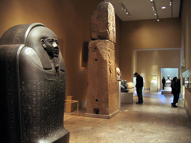 The Egyptian Exhibit at the Met.